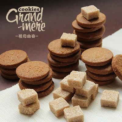 摩勒黑糖曲奇饼干